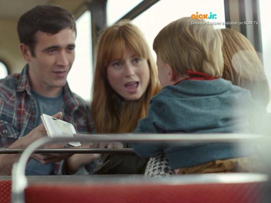Vodafone Film Ad -  Happy bus journey