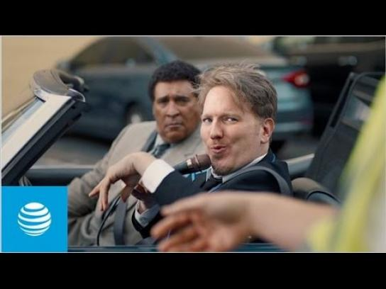 AT&T Film Ad - Don't Want to Miss a Thing - Parking booth