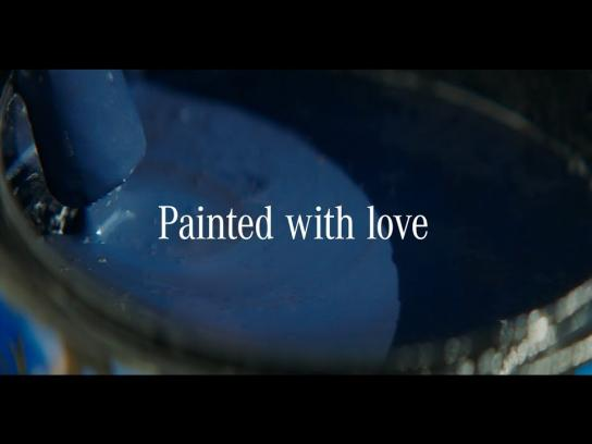 Mercedes Content Ad - Painted with Love