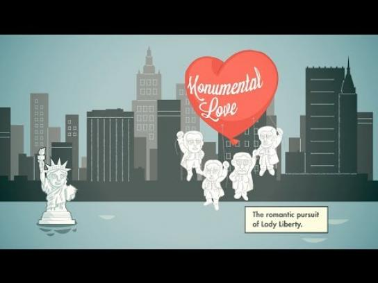 South Dakota Department of Tourism Digital Ad -  Monumental Love