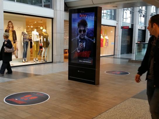 Netflix Outdoor Ad -  Marvel's Daredevil Digital OOH