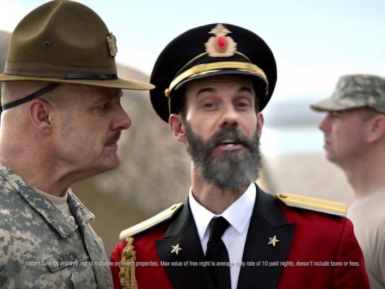 Hotels.com Film Ad - Drill sergeant