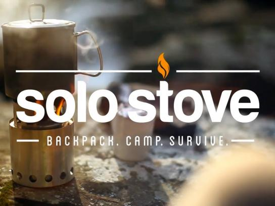 Solo Stove Digital Ad -  Backpack. Camp. Survive.