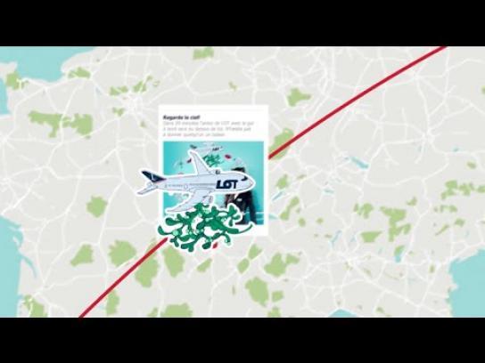 LOT Digital Ad -  The whole world under the mistletoe