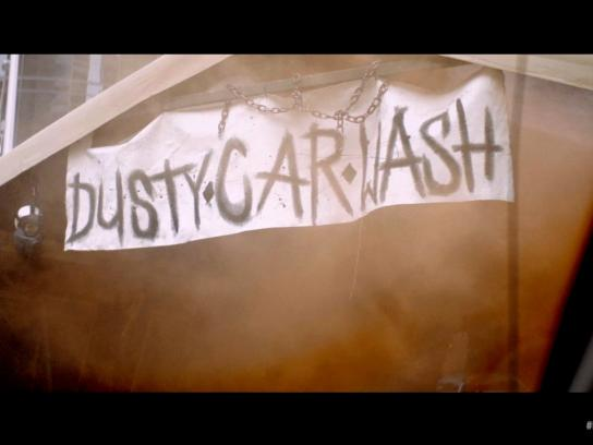 Mad Max Outdoor Ad -  Fury Road Dusty Car Wash