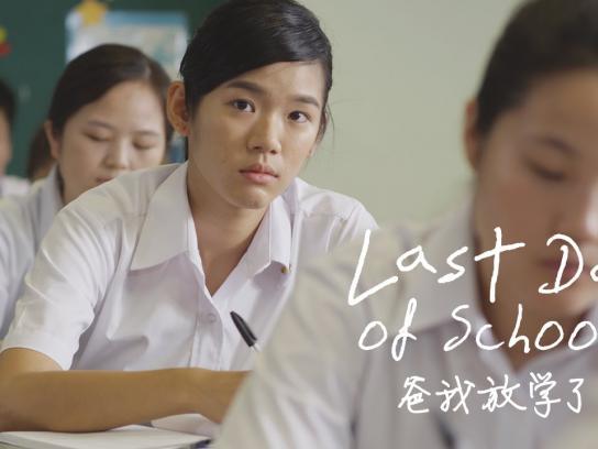 OrangeAid:  Last day of school