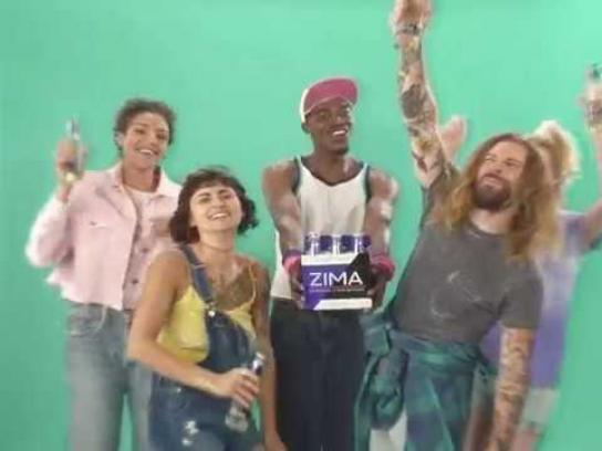 Zima Film Ad - Back Not Back