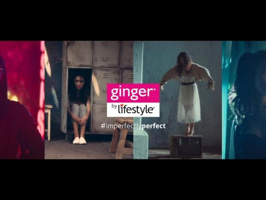 Lifestyle Digital Ad - Introducing the #ImperfectlyPerfect Ginger Girl
