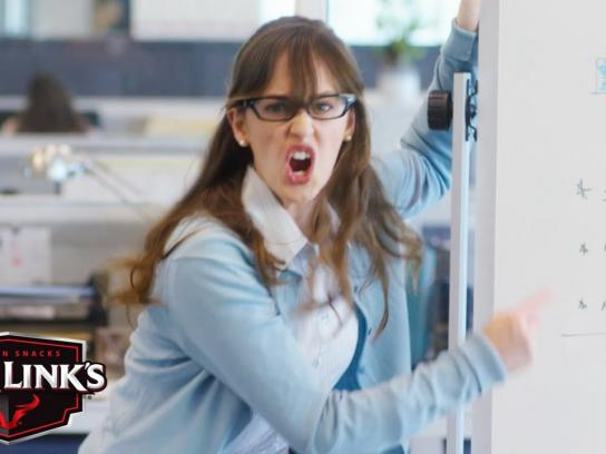 Jack Link's Film Ad - Office freakout