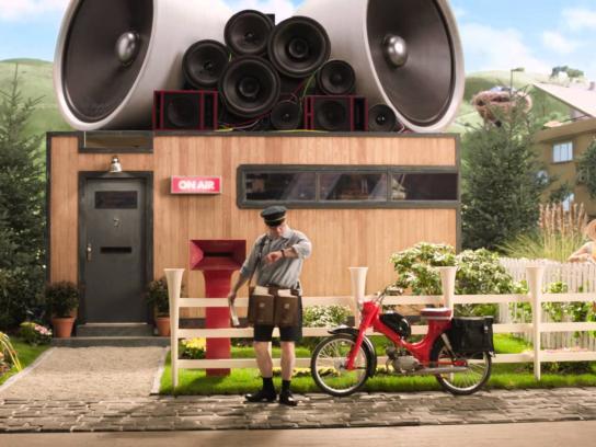 Pauls Dairy Film Ad -  Maurice
