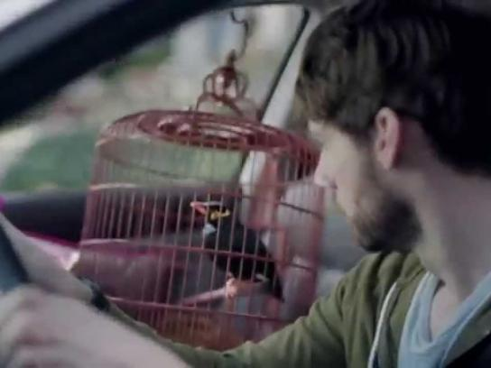 The Tire Rack Film Ad -  Mynah Bird