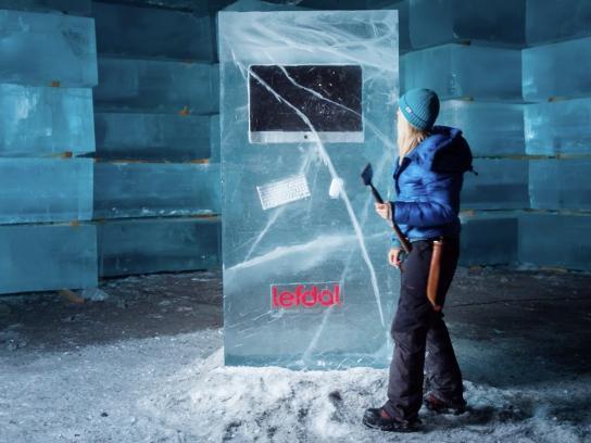 Lefdal Ambient Ad -  Ice