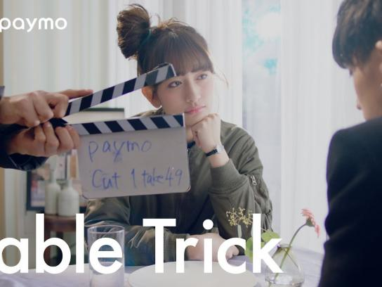 Paymo Film Ad - Table trick