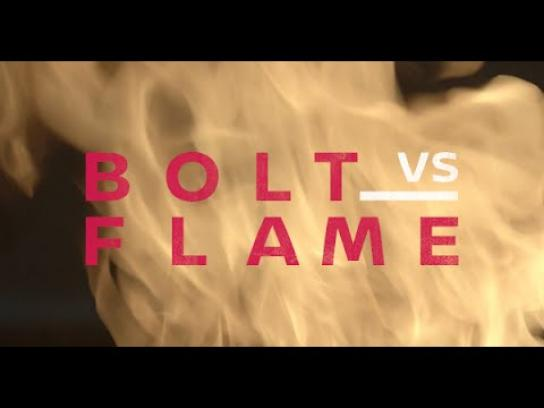 Nissan Digital Ad - Bolt vs flame