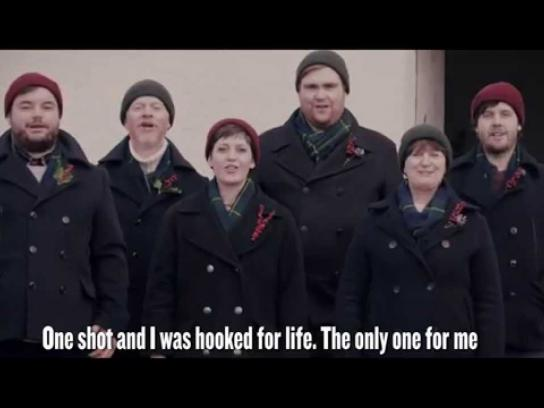 Laphroaig Digital Ad -  Christmas Choir - Chapter 2