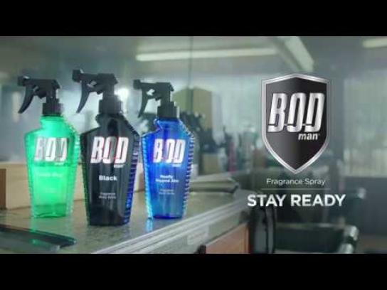 Bod Man Film Ad - Fresh Outta the Chair