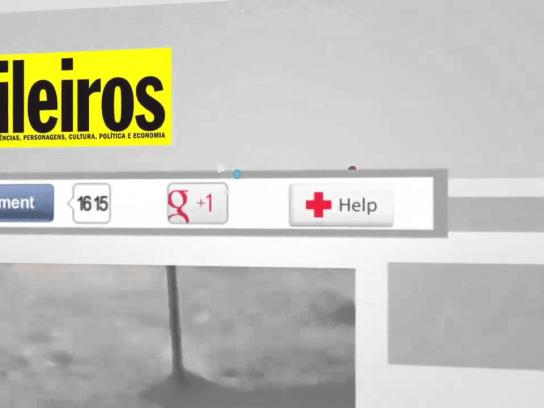Red Cross Digital Ad -  Help Button