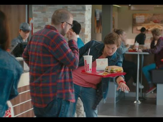 Burger King Digital Ad -  Hovertray