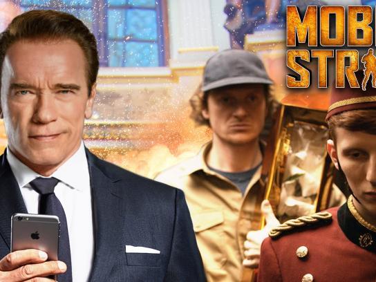 Mobile Strike Film Ad -  Arnold's Fight