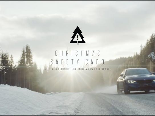 BMW Direct Ad - Christmas Safety Card