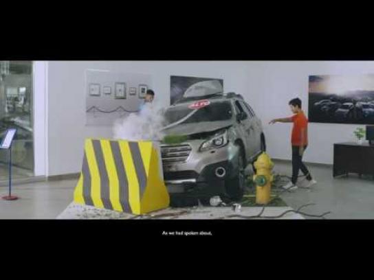 Subaru Film Ad - Subaru - Crash