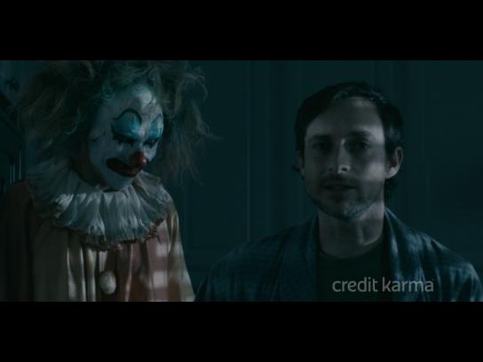 Credit Karma Film Ad - Scary Clown