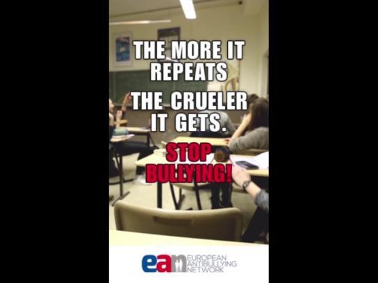 European Antibullying Network Digital Ad - Escalating GIF