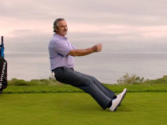 Hyundai Film Ad -  Driving tips with David Feherty - Form