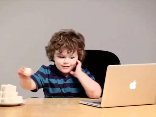 Media Contacts Digital Ad -  E-Marshmallow Test
