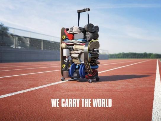 Samsonite Film Ad - We carry the world - Kionte Storey