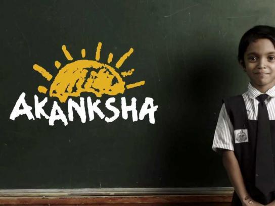 Akanksha Ambient Ad -  Classroom Mumbai