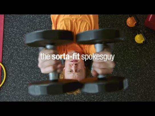 Vitaminwater Film Ad - The Sorta-Fit Spokesguy: 'Sorta-Fit'