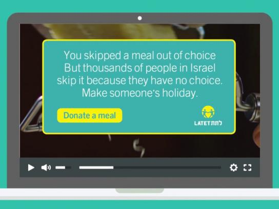 Latet Digital Ad - Skip a Meal