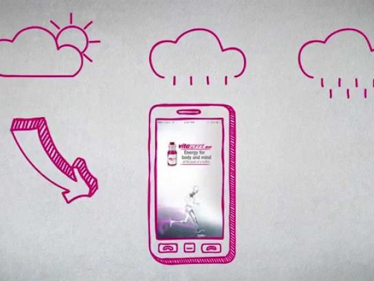 Vitasprint Digital Ad -  Running alarm