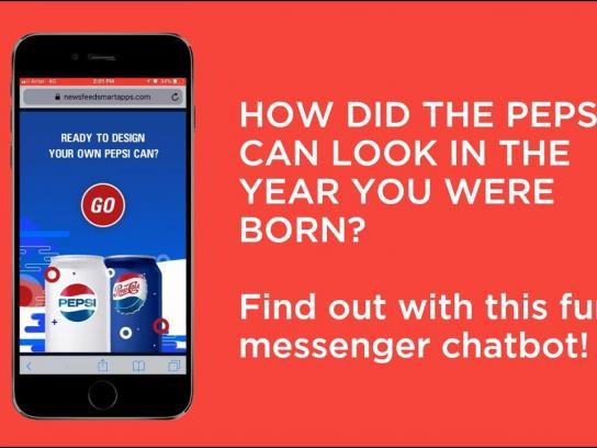 Pepsi Digital Ad - Pepsi Vintage Chatbot