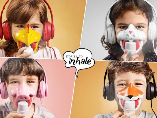 Clin Kids Experiential Ad - Stories to Inhale