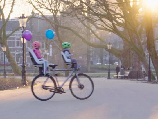 Google Digital Ad -  Self-driving bicycle for the 1st of April