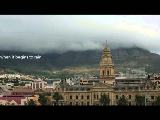 City of Cape Town Outdoor Ad -  Help the homeless this winter