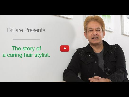 Brillare Film Ad - The Story of a Caring Hairstylist