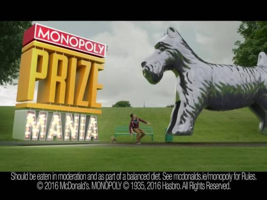 McDonald's Film Ad - Unbelievably huge