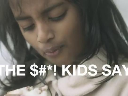 NSPCC Film Ad -  The Sh*t Kids Say