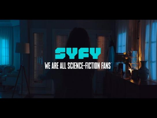 Syfy Channel Film Ad - Blue Light