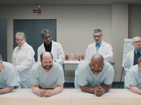 Prostate Cancer Canada Integrated Ad - Famous Finger Collection