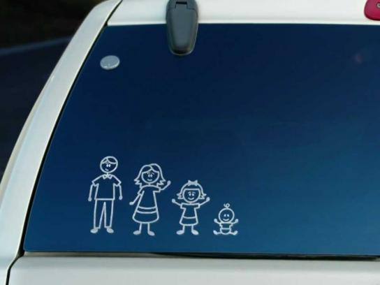 MADD Film Ad -  Stick Family Crash