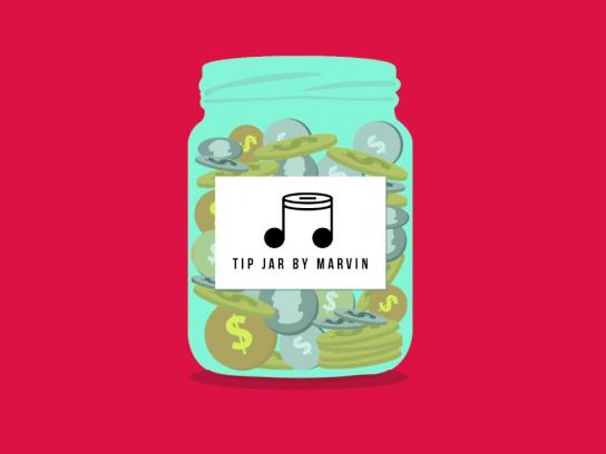 Marvin Magazine Digital Ad - Tip Jar by Marvin