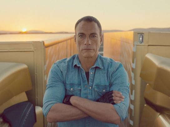 Volvo Film Ad -  The Epic Split feat. Van Damme