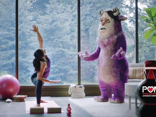 POM Wonderful Film Ad - Yoga Teacher