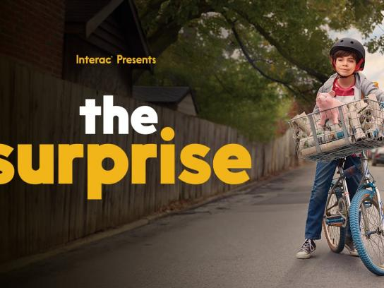 Interac Film Ad - The surprise