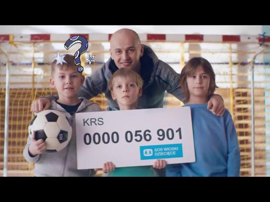 SOS Children's Villages Digital Ad - Give your 1% tax