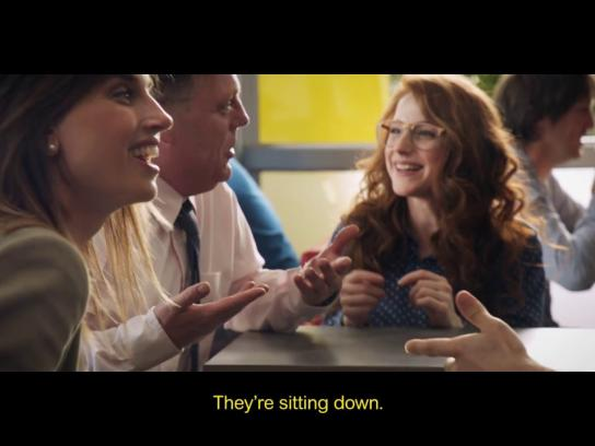 McDonald's Film Ad - Table Service